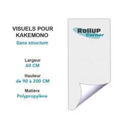 Infos impression Rollup Corner pour une PLV Kakémono